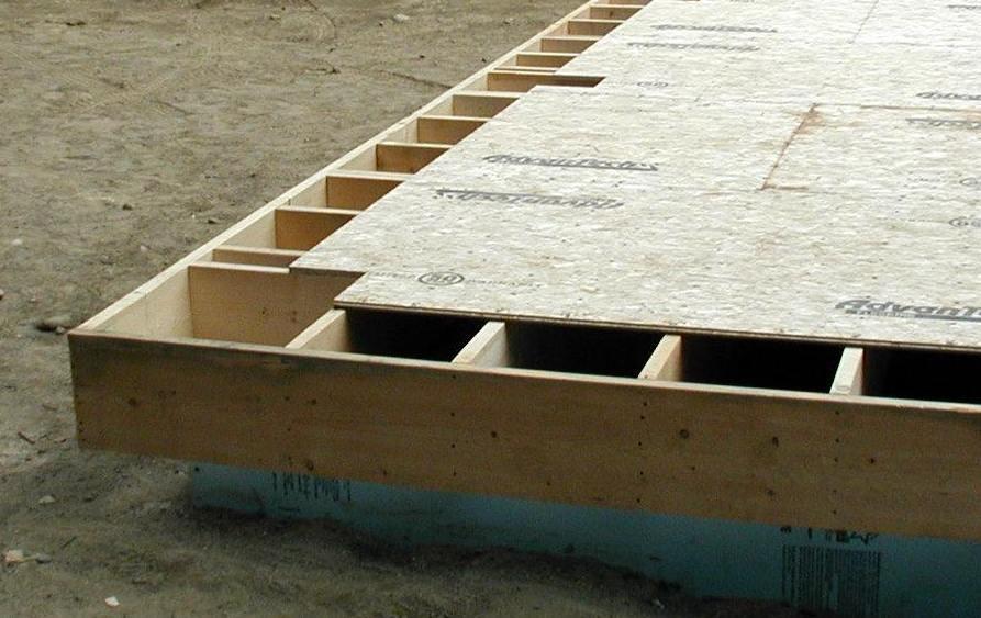 Hj lmaren larsen truss for Balcony flooring